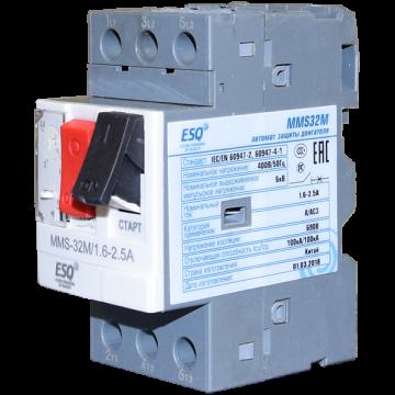 MMS32M 02P5 1.6-2.5А (400V/100kA ESQ)