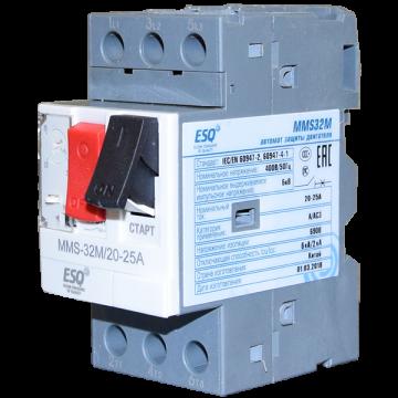MMS32M 0010 6-10А (400V/100kA ESQ)